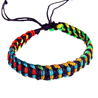 Classic Multicolor Men's Friendship Bracelet(1 Pc)