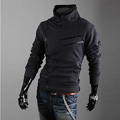 Men's Slim Zip Sweatshirt
