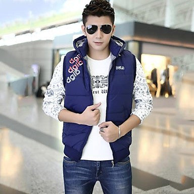 Men's Mock Neck Fashion Casual Vests More Colors