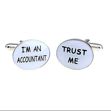 I¡¯m an Accountant Style Cufflinks