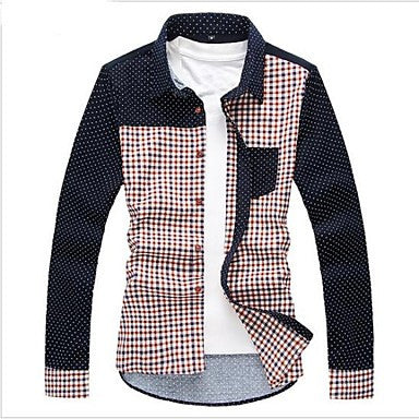 Men's Fashion Casual High-Quality Long Sleeve Shirt