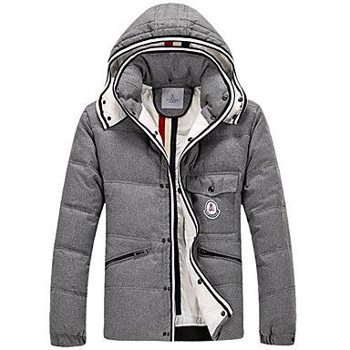 Men's Hooded Casual Cotton Coat