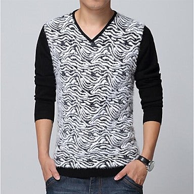 Men's Fashion Slim Pullover