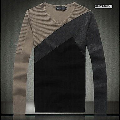 Men's Fashion Round Neck Slim Pullover Cardigans