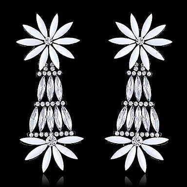 Exaggeration Daisy Flower Earrings