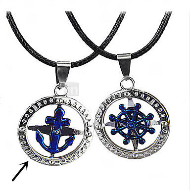 Classic Anchor Shape Men's Pendant Necklace(1 Pc)