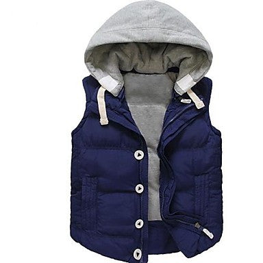 Men's Slim Casual Thicken Down Vest