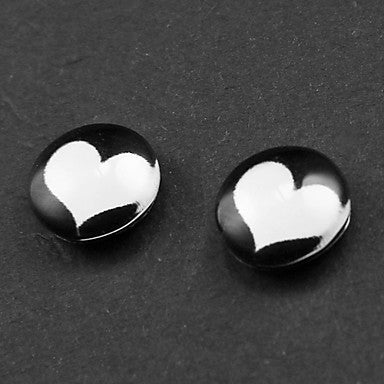 Punk Heart Magnetic Earrings(1 Pair)