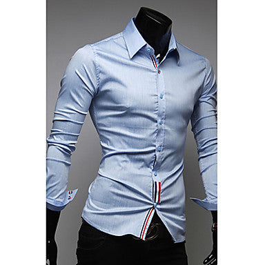Casual Trendy Slim Shirt