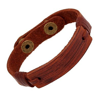 Vintage Punk Genuine Leather Men's Bracelets
