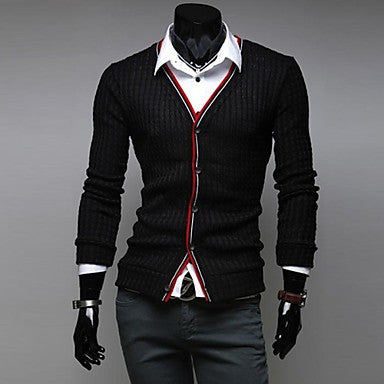 Men's Business And Leisure Together Cultivate One's Morality Cardigan Sweater