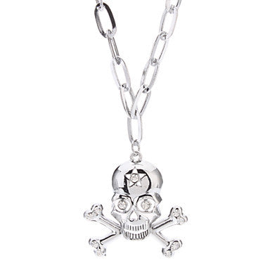 Star Crossbones Alloy Necklace