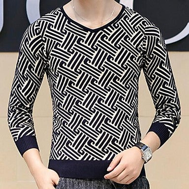 Men's Hitz Korean Slim Knit Sweater
