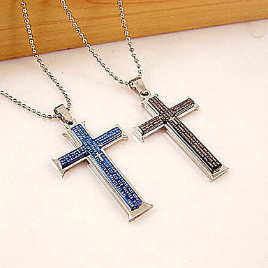 Fashion Jesus Biblical Words Titanium Steel Pendants(More Color) (1 Pc)