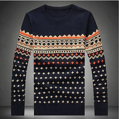 Men's Long Sleeved Sweater