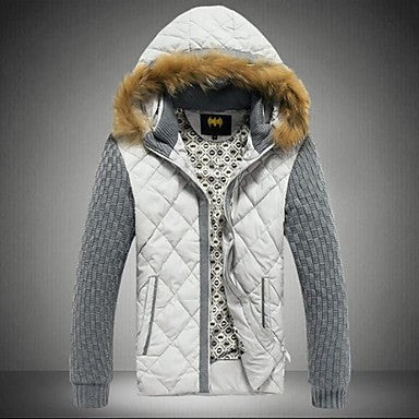 Men's Hooded Warm Coat