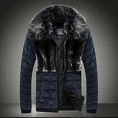 Men's A Thick Coat Of Fur