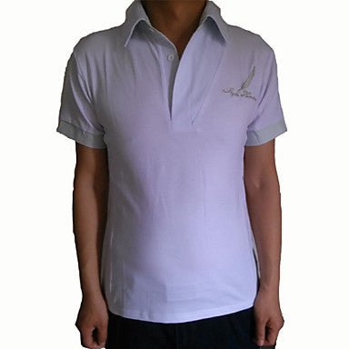 Men's Short Sleeve Fashion Casual Polo T Shirt For Men 3 Colors Select