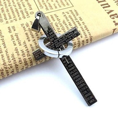 Fashion Black Stainless Steel Men¡®s Pendant