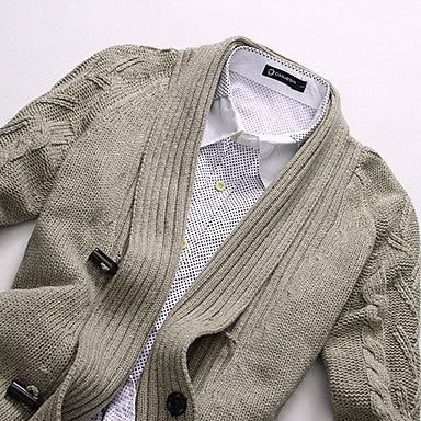 Men's Hot Selling Knitted Medium Style Cardigan