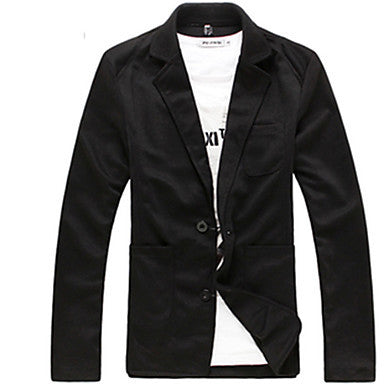 Men's Fashion Autumn Korean Version Slim Casual Suit