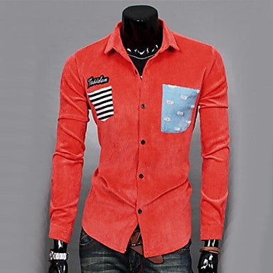 Men's Casual Fashion Slim Shirt
