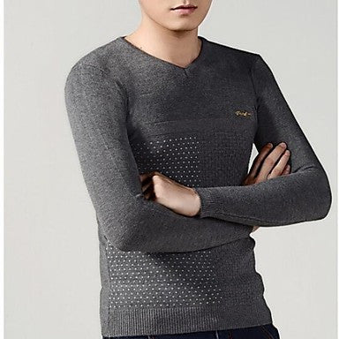 Men's leisure Long-Sleeved Sweater Cardigans