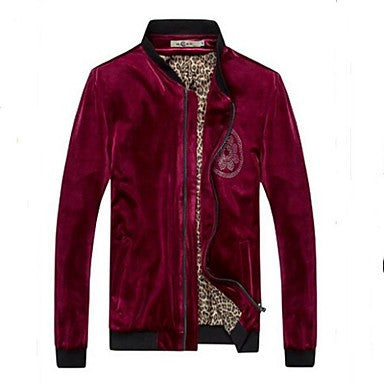 Men's Velvet Drilling Hot Jacket