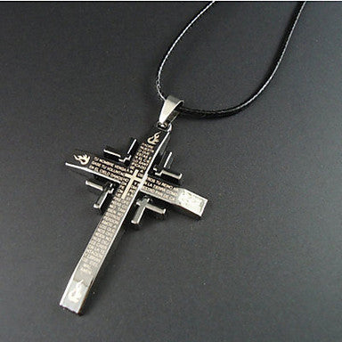 European Style Cross Pendant Necklace