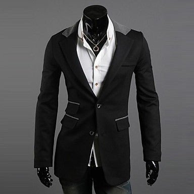Men's Two Button Casual Blazer