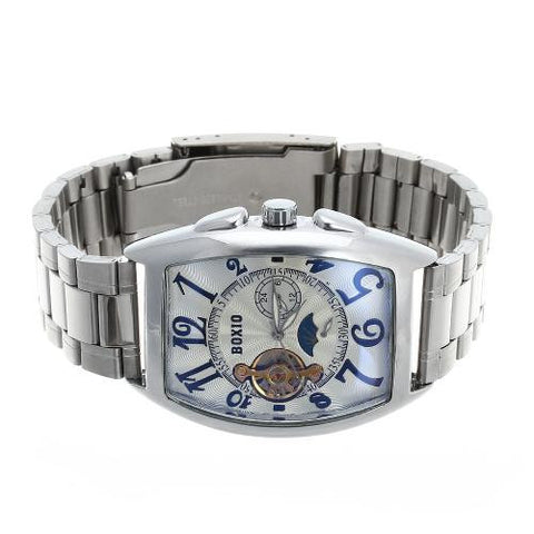 Men's Wristwatch Watch Automatic Mechanical Skeleton Dial Arabic Numerals