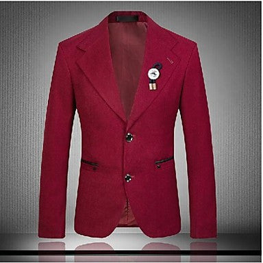 Men's Fashion Casual High Quality Slim Blazer