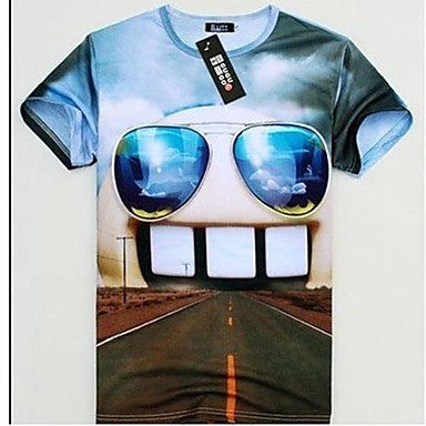 Men's Western All Match 3D Pattern T Shirt