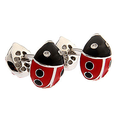 Men's Ladybug Animal Cufflinks(2 PCS)