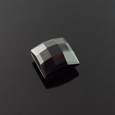 Men's Rectangular Section Square Magnet Cilp Earrings
