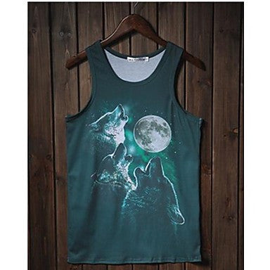 Men's Casual Print Vest