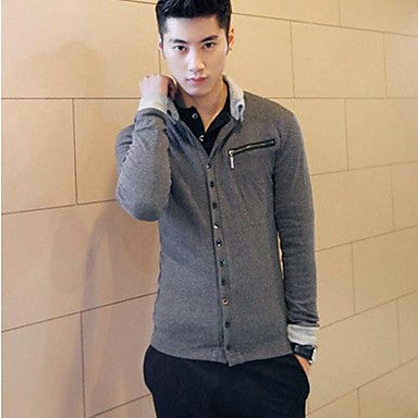 Men's Slim Trend Cardigan Sweater