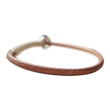 Classic Korea Style Original Design Leather Bracelet(1 Pc)