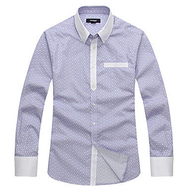 Men's Causal Print 100% Cotton Shirt