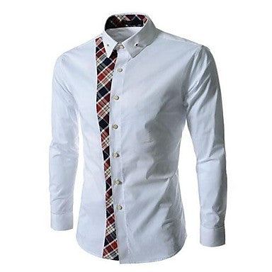 Men's New Summer Korean Fashion Lace Shirt