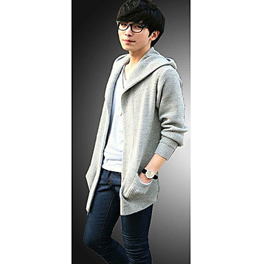 Men's Fashion Popular Knittted Hoodies