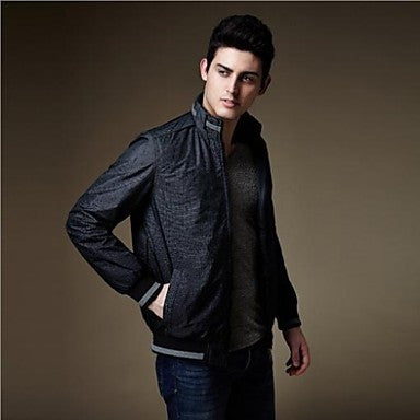 Men's Fashion Color Changing Stylish Slim-fit Quality Long Sleeve Casual Jacket Coat