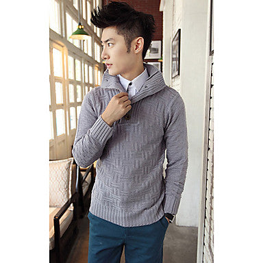 Men's Five Button Sweater