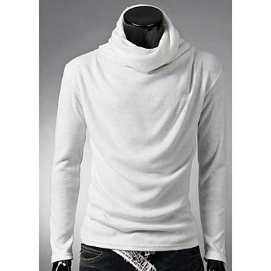 Men's Fashion Pullover Long Sleeves T-shirt