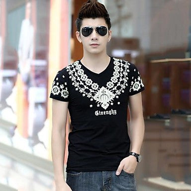 Men's Mock Neck Fashion Casual T-Shirts (More Colors)