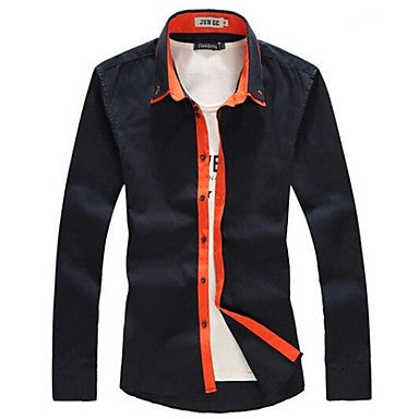 Men's Spring Sleeved Shirt