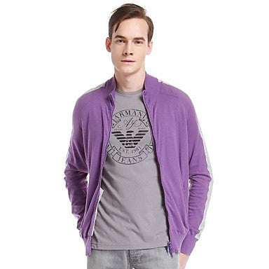 Men's Fashion Stand Neck Long Sleeve Casual Knitwears