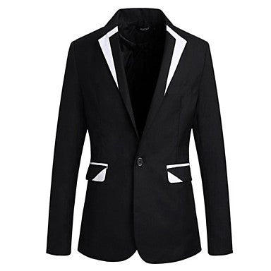 Men's Fashion Personality Splicing Jacket