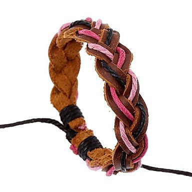 The New Adjustable Unisex Leather Bracelet