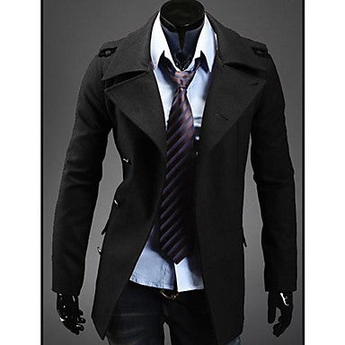 Men's Double Breasted Slim Blazer